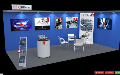 Virtual exhibition stand proves an easy build for HT Servo