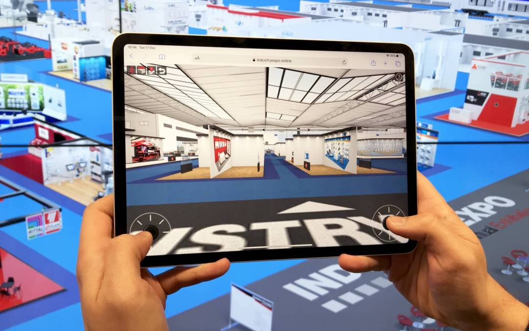 IndustryExpo virtual walkaround goes live for PC & Mobile